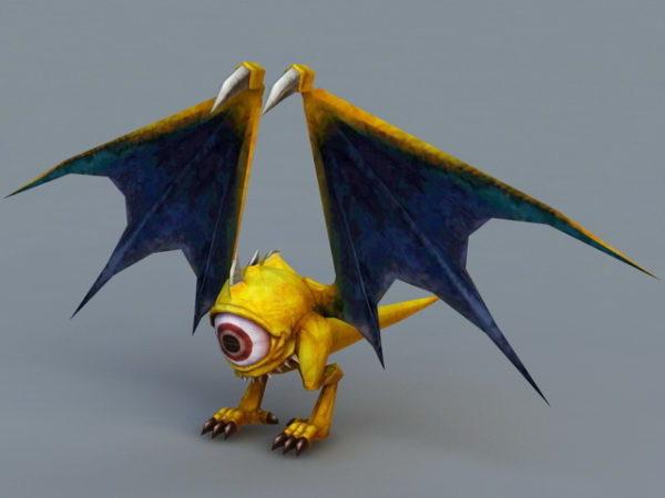 Anime Bat Monster