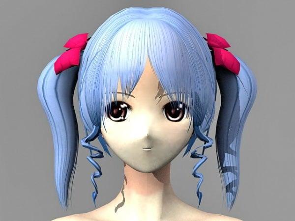 Anime Girl Nuy Character