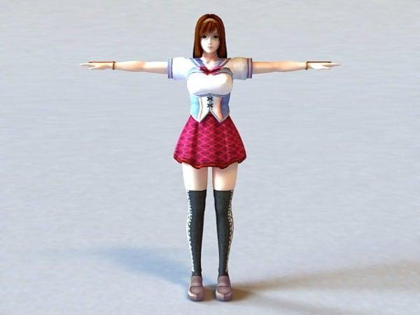 Anime Girl Teacher