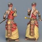 Anime Shaolin Monk