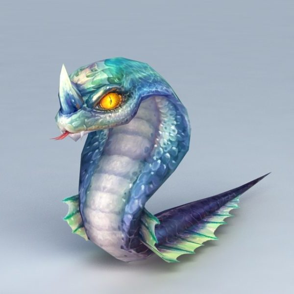 Serpiente de anime