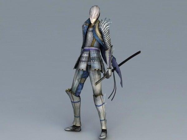 Anime Swordsman Art