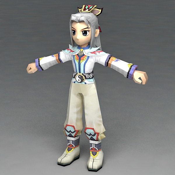 Anime Warrior Guy