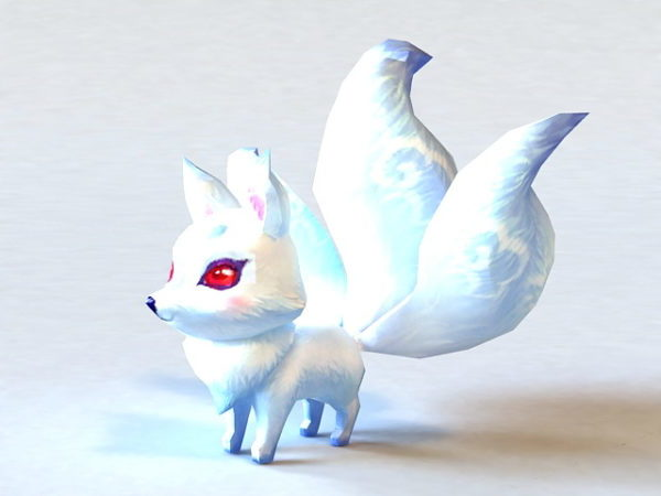 Anime White Fox