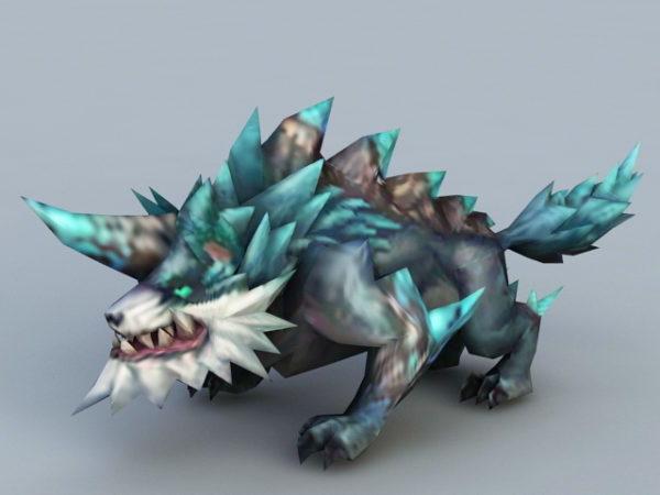 Anime Wolf Monster