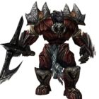Armed Humanoid Monster Character