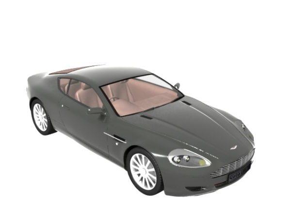 Aston Martin Db9 Grand Tourer Free 3d Model Max Vray Open3dmodel 125937
