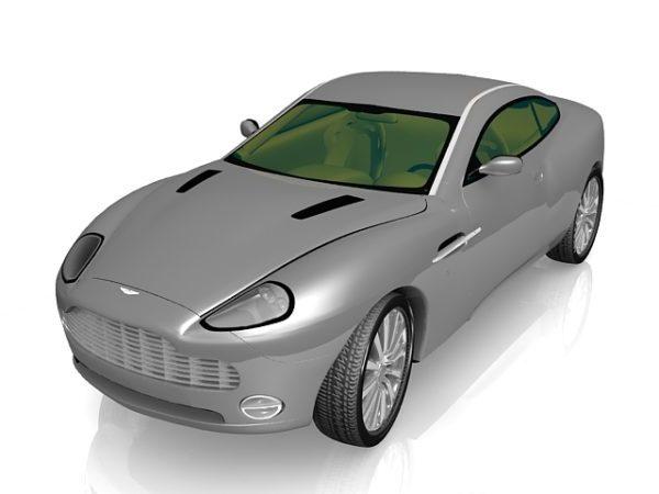 Aston Martin Dbs V12 Free 3d Model Max Vray Open3dmodel 120499