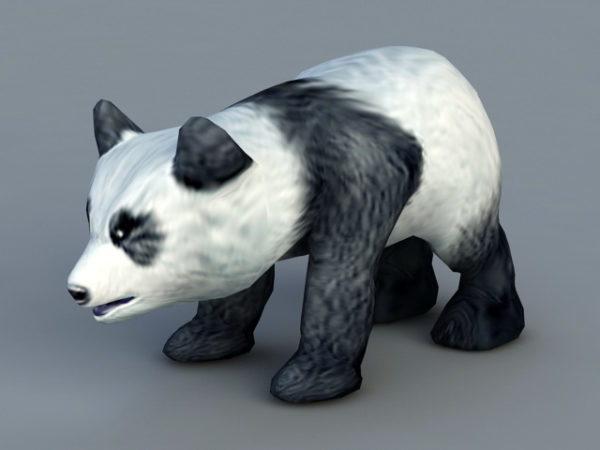 الباندا الطفل