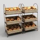 Bagel Display Racks For Bagel Shops