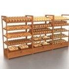 Bakery Retail Display Rack