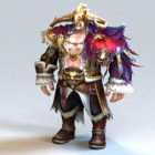 Barbarian Man Warrior