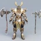 Conjuntos de armadura de guerrero berserker