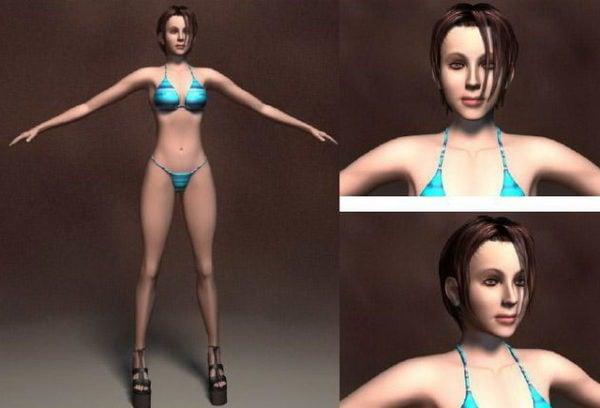 Bikini Mujer Carácter