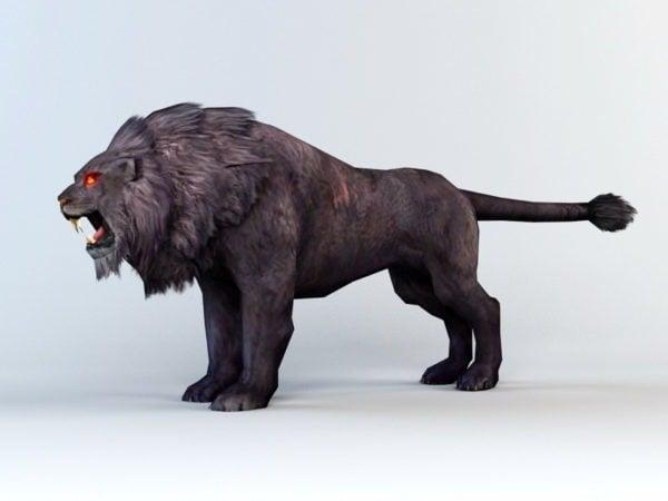 Musta leijona