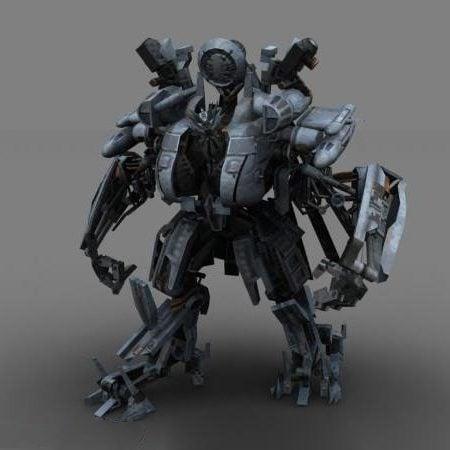 Blackout Transformers Robot