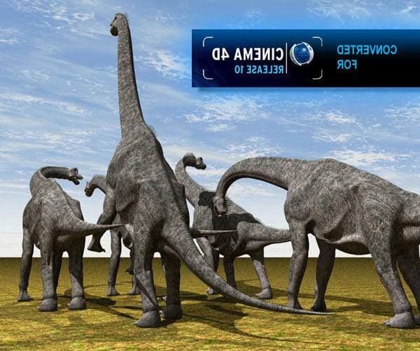 Dinosaurio Brachiosaurus
