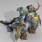 Brutallus Demon Lord Rigged