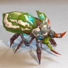 Koncept Bug Monster Animovaný