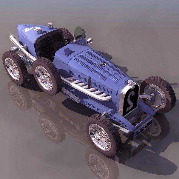 Bugatti Type 35 Racing Car