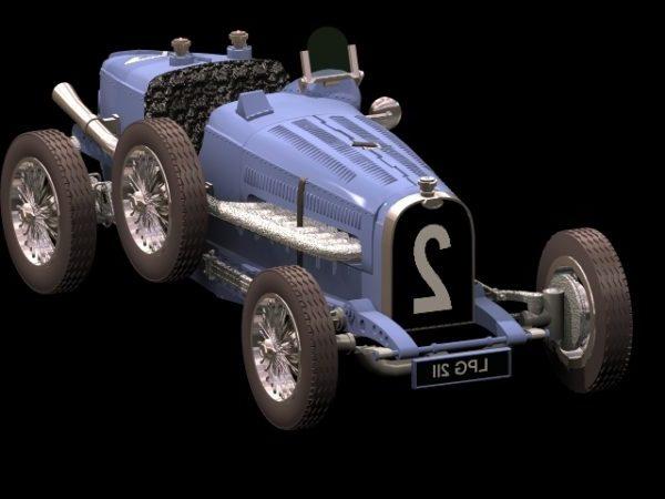 Bugatti Type 59 Racing Car