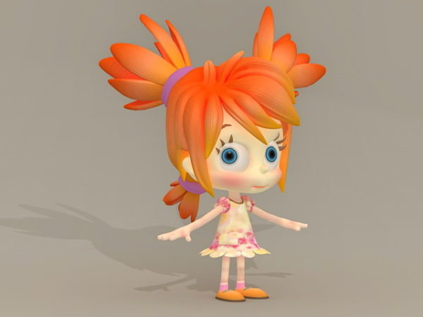 Cg Little Girl