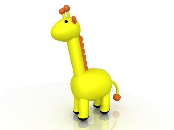 Cartoon Giraffe Toy