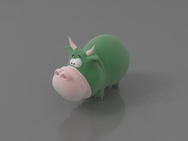 Sarjakuva Hippo