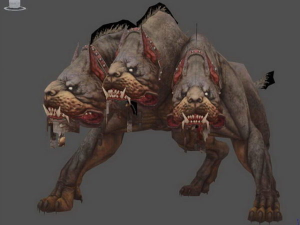 Cerberus kolmipäinen koira