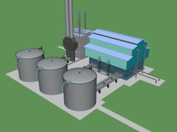 Chemical Factory Building