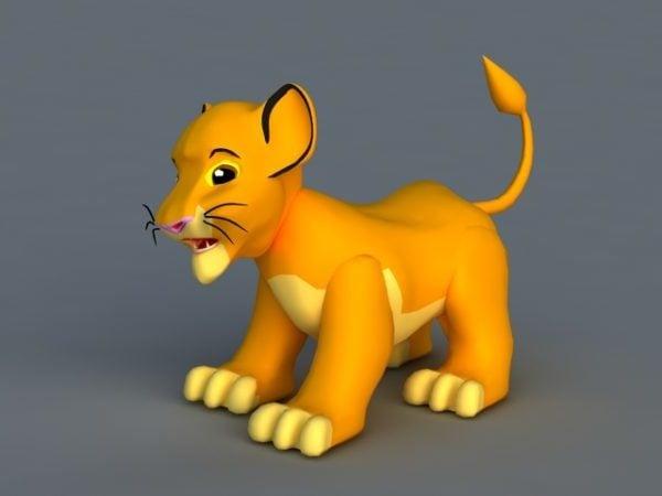 Lion Simba Cartoon