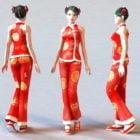 New Year Chinese Girl