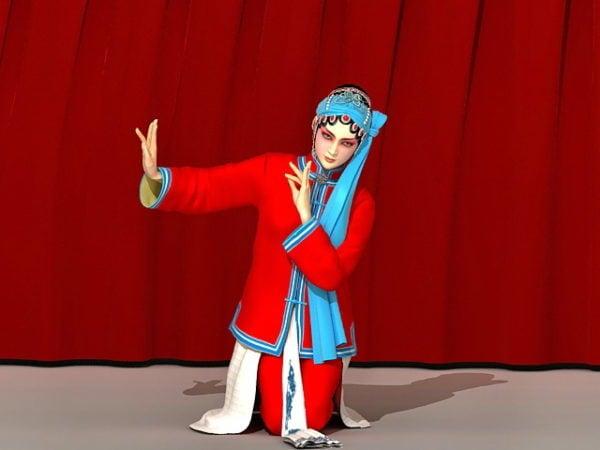 Chinese Peking Opera Woman