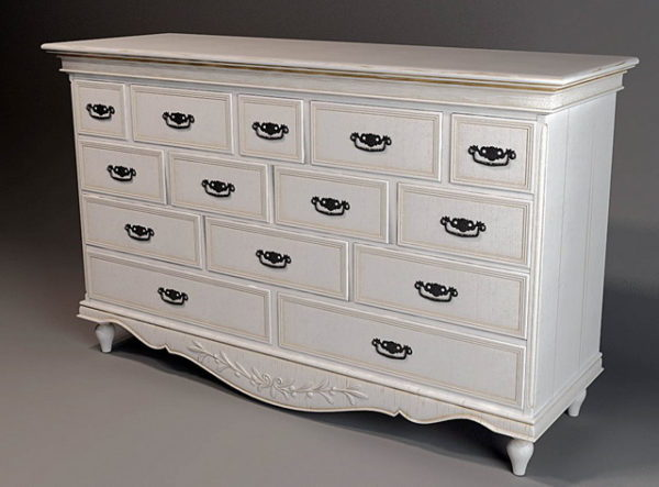 Classic French Chest Of Drawer