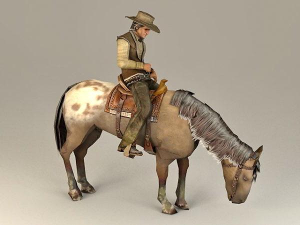 Cowboy Ratsastushevonen
