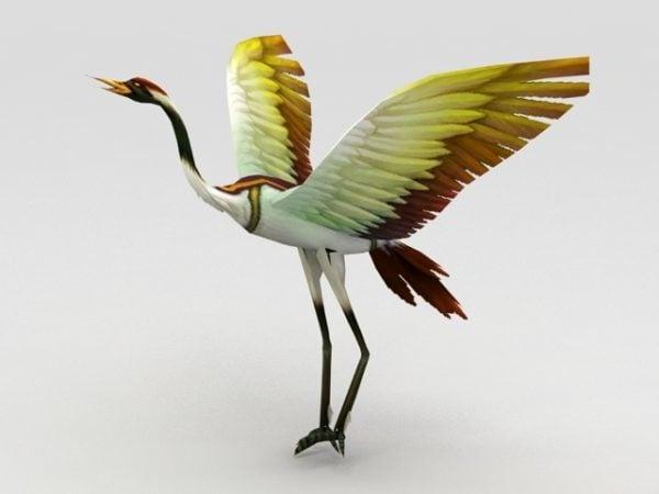 Pájaro grulla
