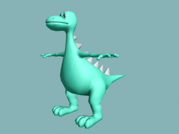Söpö vauva Stegosaurus Rig