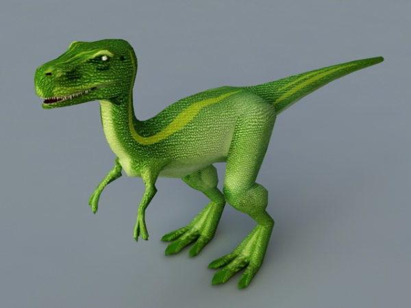 Cute Baby T-rex