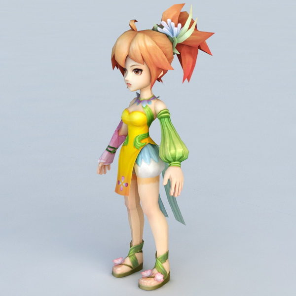 Cute Little Anime Girl