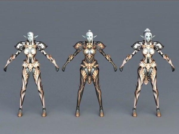 Dark Elf Armor Set