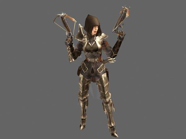Diablo Iii Character – Demon Hunter Female