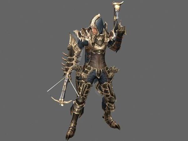 Diablo Iii Character Male Demon Hunter