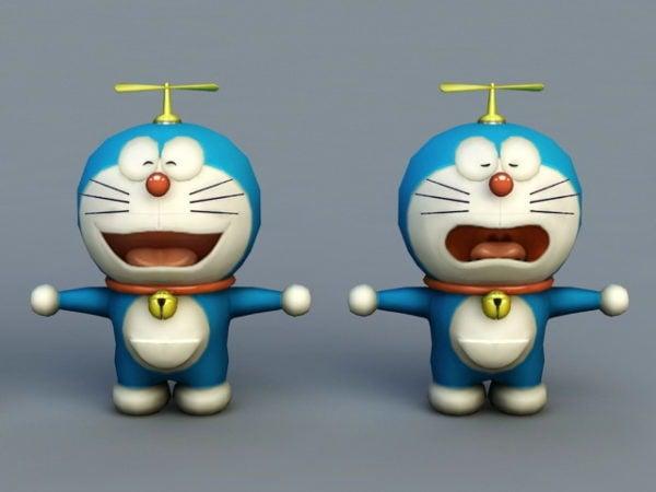 Doraemon De Dibujos Animados