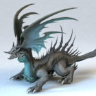 Dragon Monster Rigged & Animated