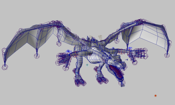 Dragon Rig Animation