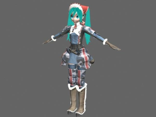 Dream Fighter Miku Carácter