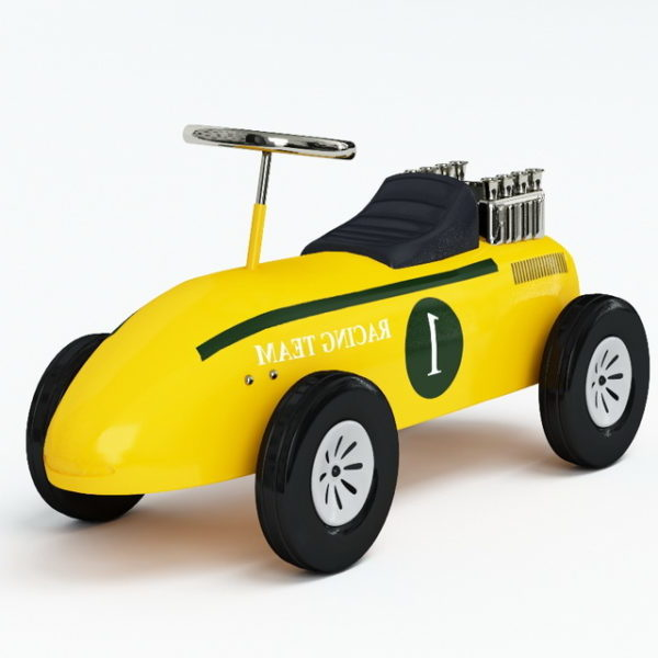 Electric Toy Race Car