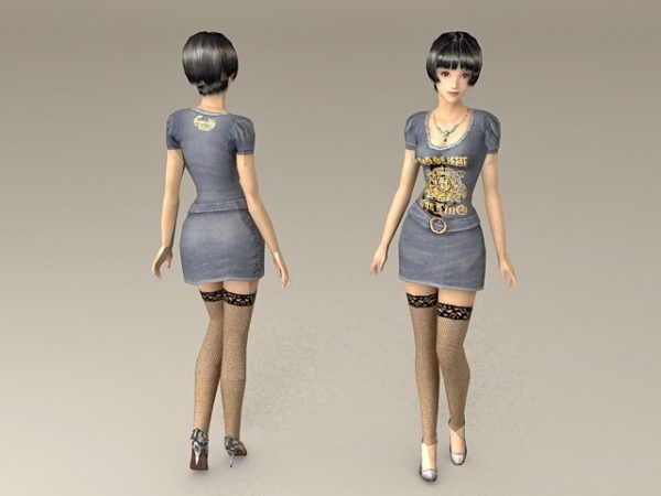 Elegant Lady Fashion