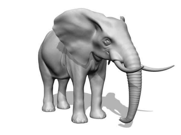 تمثال حيوان الفيل
