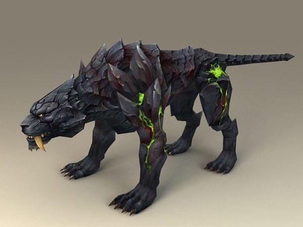 Fantasy Black Tiger
